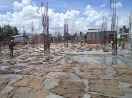 Lưu ý đổ bê tông tươi trong thời tiết nắng nóng