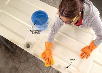 9 lời khuyên hữu ích cho việc sơn cửa gỗ