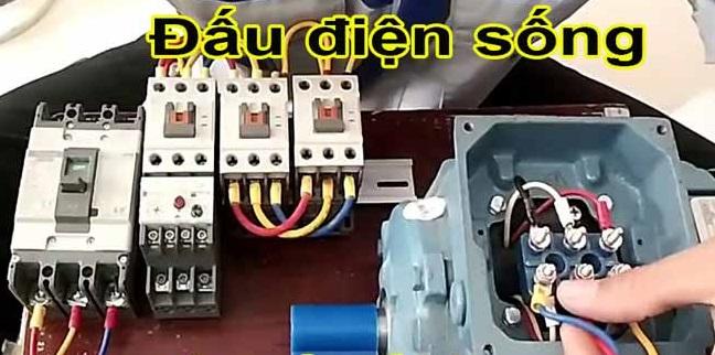 Một số lưu ý khi đấu dây điện sống an toàn