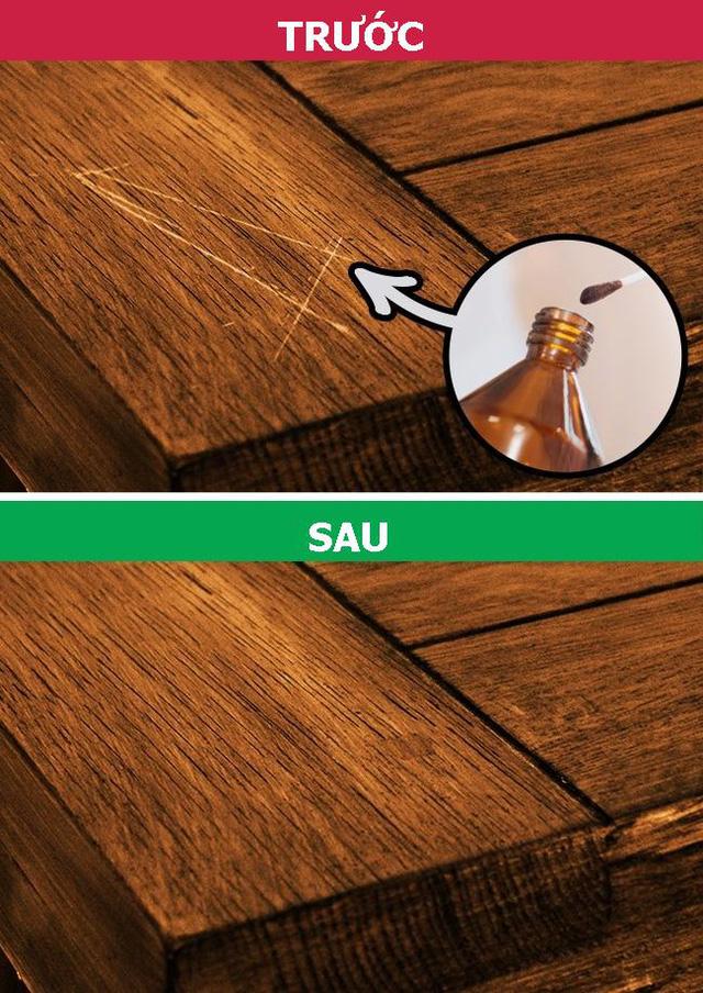 Hướng dẫn sửa chữa đồ gỗ bị trầy xước nhanh chóng