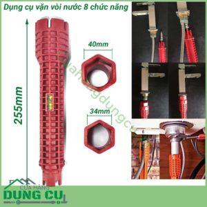 Dụng cụ vặn vòi cấp nước 8 chức năng
