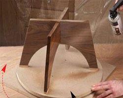 Kỹ thuật sơn Pu đồ gỗ đẹp bóng loáng