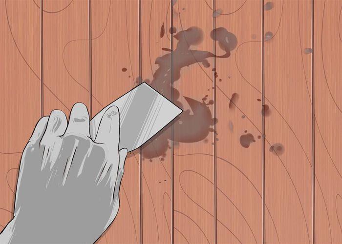 Hướng dẫn loại bỏ vết ố mốc trên sàn gỗ