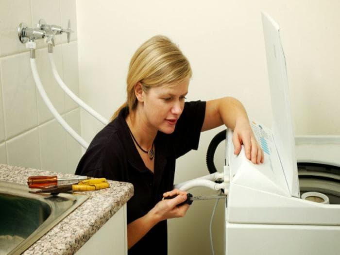 Hướng dẫn sửa máy giặt không vào nước