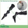Bộ 2 đầu bơm keo silicone chuyên bơm góc hẹp