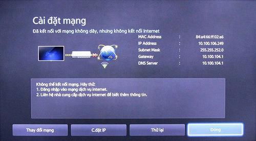 Khắc phục tivi không kết nối được mạng một cách hiệu quả nhất