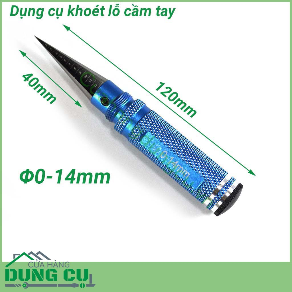 Dụng cụ khoét lỗ cầm tay Φ0-14mm