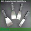Bộ 7 dụng cụ làm sạch thép không gỉ
