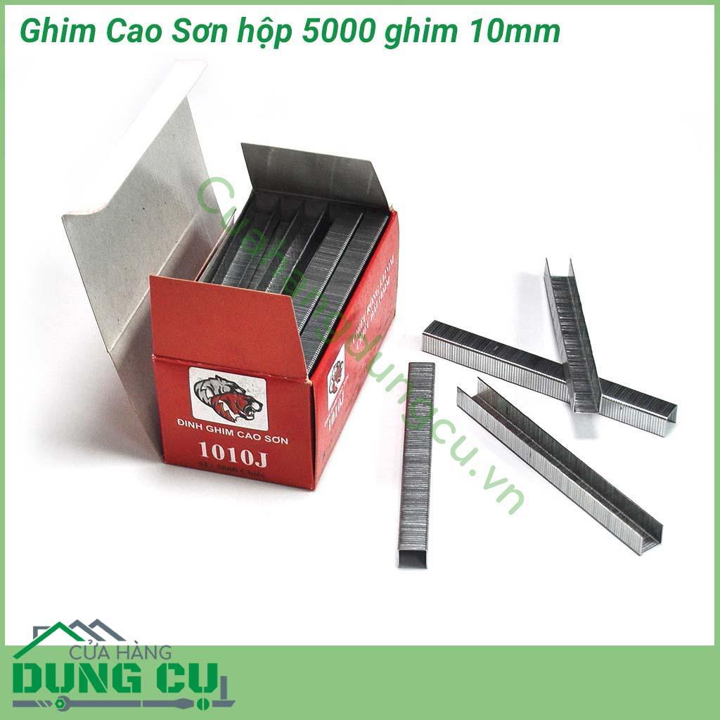 Ghim bấm gỗ Cao Sơn 10mm