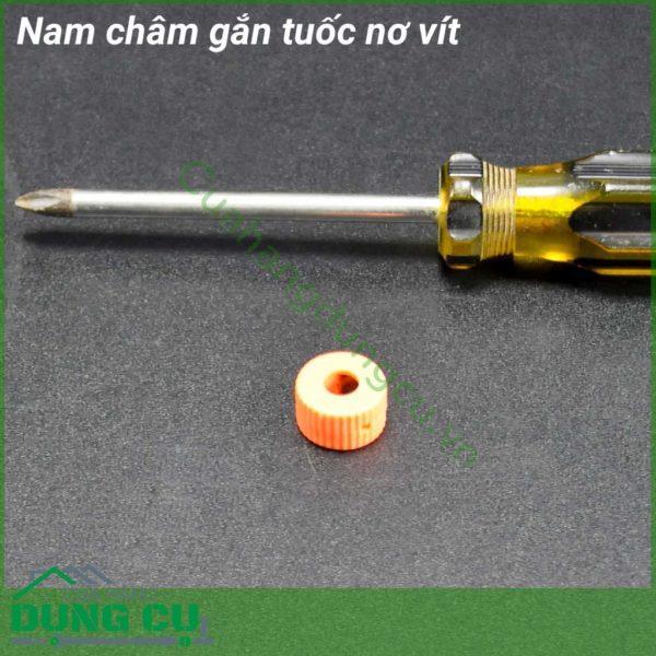 Nam châm gắn tuốc nơ vít 6mm