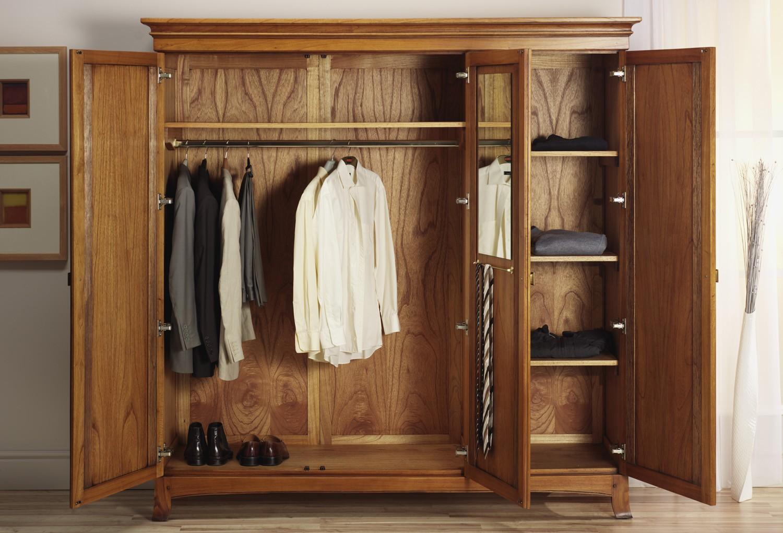 Hướng dẫn cách tháo lắp tủ quần áo gỗ