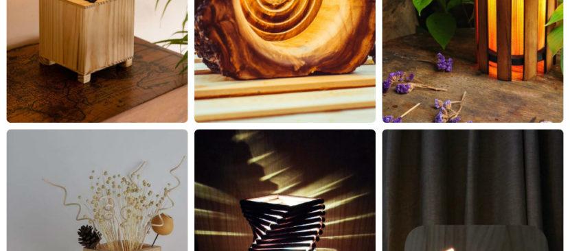 Học cách làm đèn ngủ gỗ trang trí phòng tinh tế