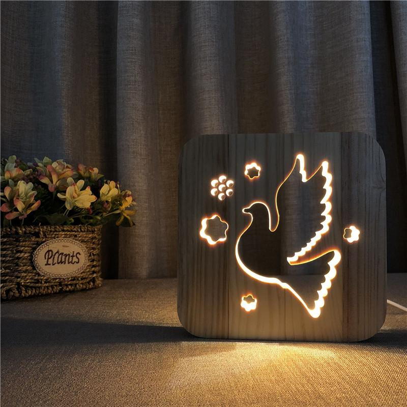 Hướng dẫn cách làm đèn ngủ hình chú mèo bằng gỗ