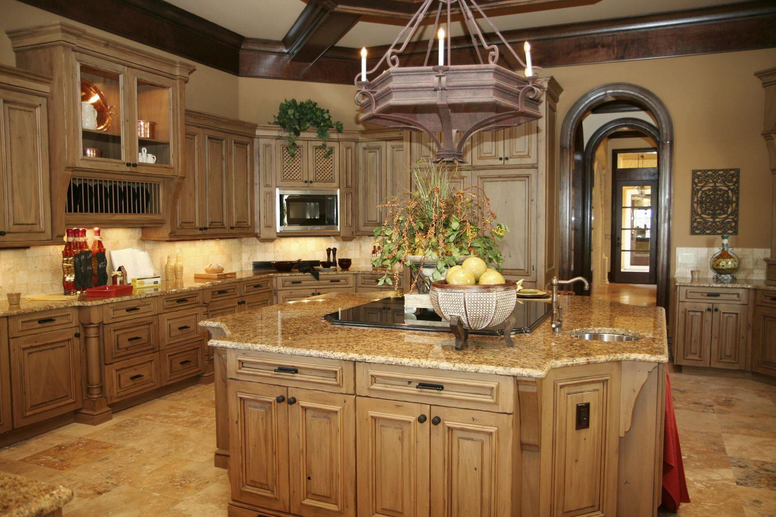 Gợi ý cách bài trí đồ nội thất gỗ phòng bếp
