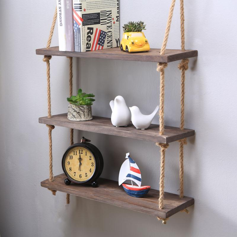 Tuyệt chiêu làm kệ gỗ treo tường vintage hiện đại