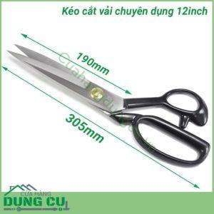 Kéo cắt vải chuyên nghiệp 12 inch