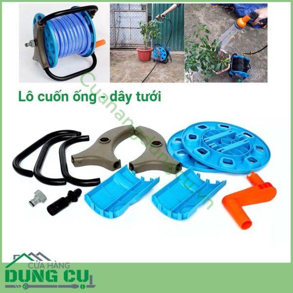 Bộ khung cuộn ống nước, ống tưới, dây tưới