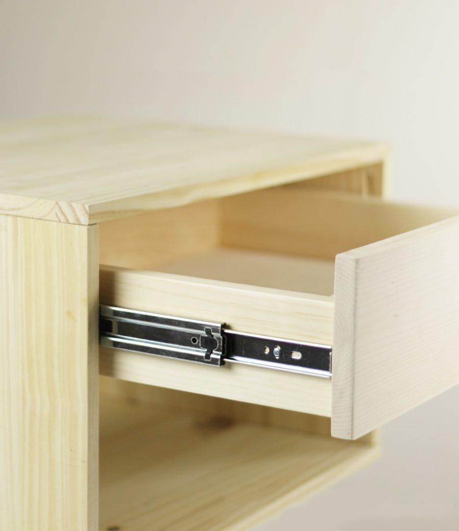 Hướng dẫn các bước lắp ray trượt ngăn kéo tủ gỗ