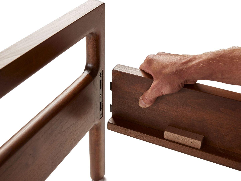 Học cách tháo lắp giường gỗ tại nhà