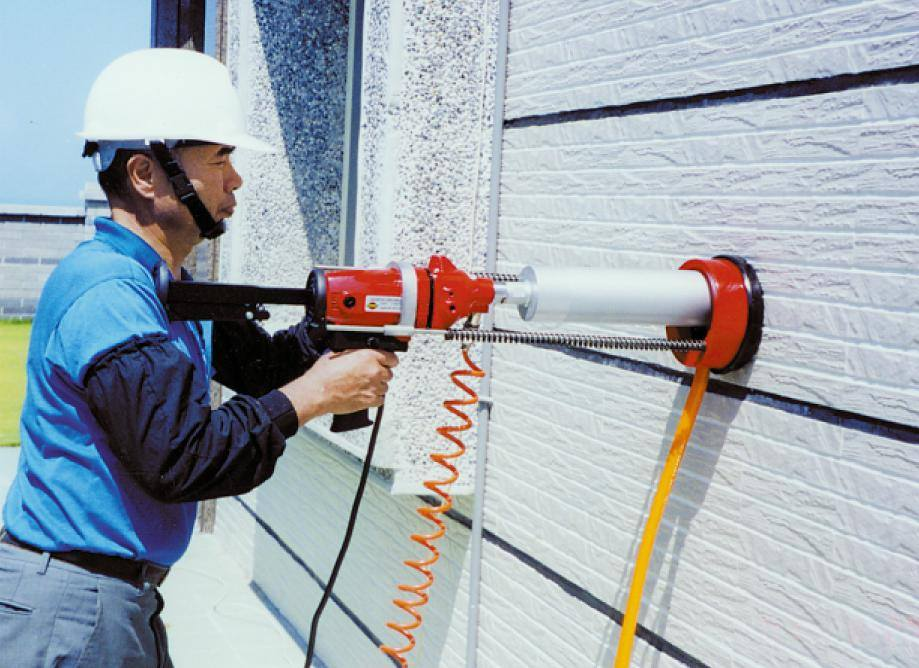 Cách sử dụng máy khoan rút lõi bê tông