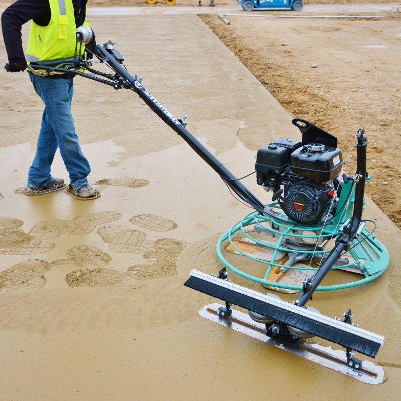Cách sử dụng máy xoa nền bê tông