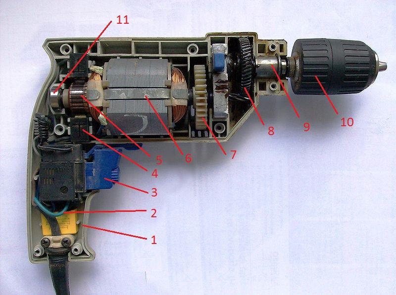 Cách sửa chữa máy khoan
