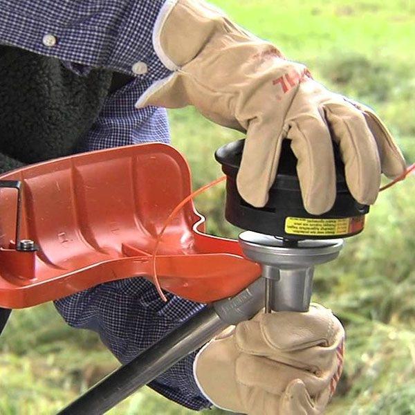 Cách thay cước cắt cỏ