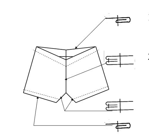 Hướng dẫn cắt may quần đùi