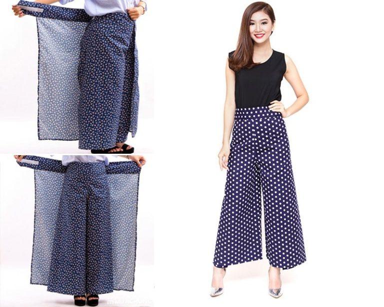 Hướng dẫn cắt may quần váy chống nắng