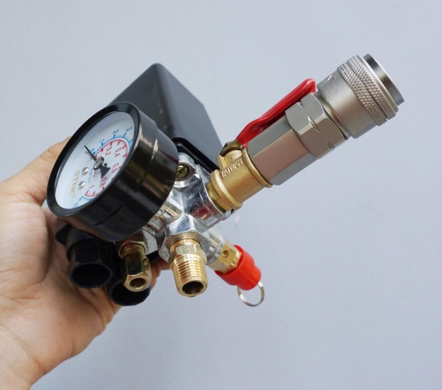 Cách điều chỉnh áp suất máy nén khí
