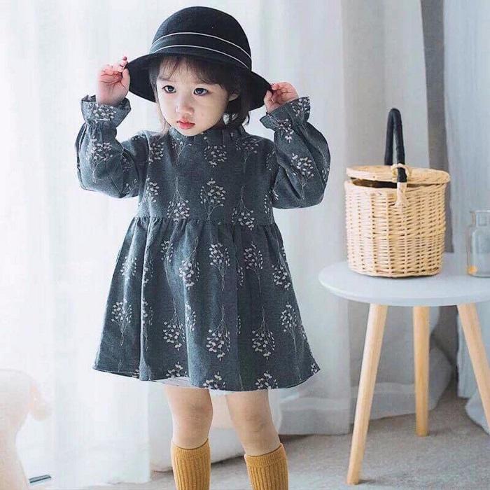 Học may áo babydoll cho bé