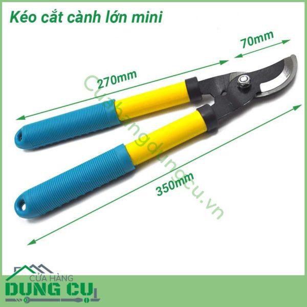 Kéo cắt cành cán dài mini
