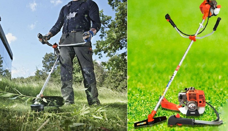 Cách dùng máy cắt cỏ 2 thì