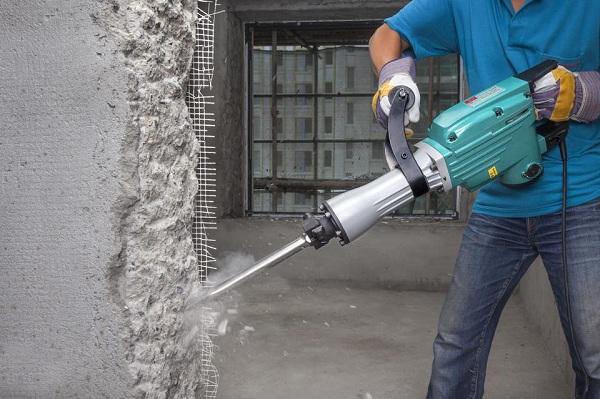 Hướng dẫn sử dụng máy đục bê tông