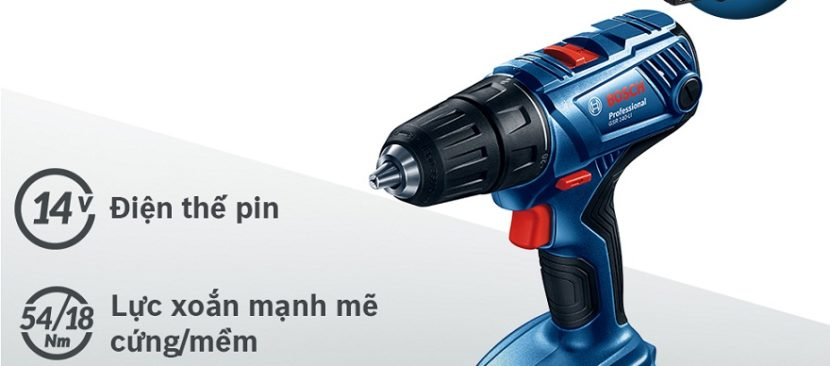Bảo quản và sử dụng máy khoan bắt vít dùng pin