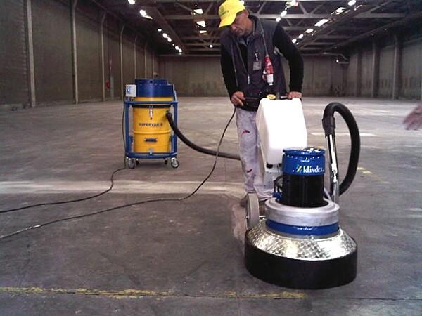 Cách sử dụng máy mài sàn bê tông