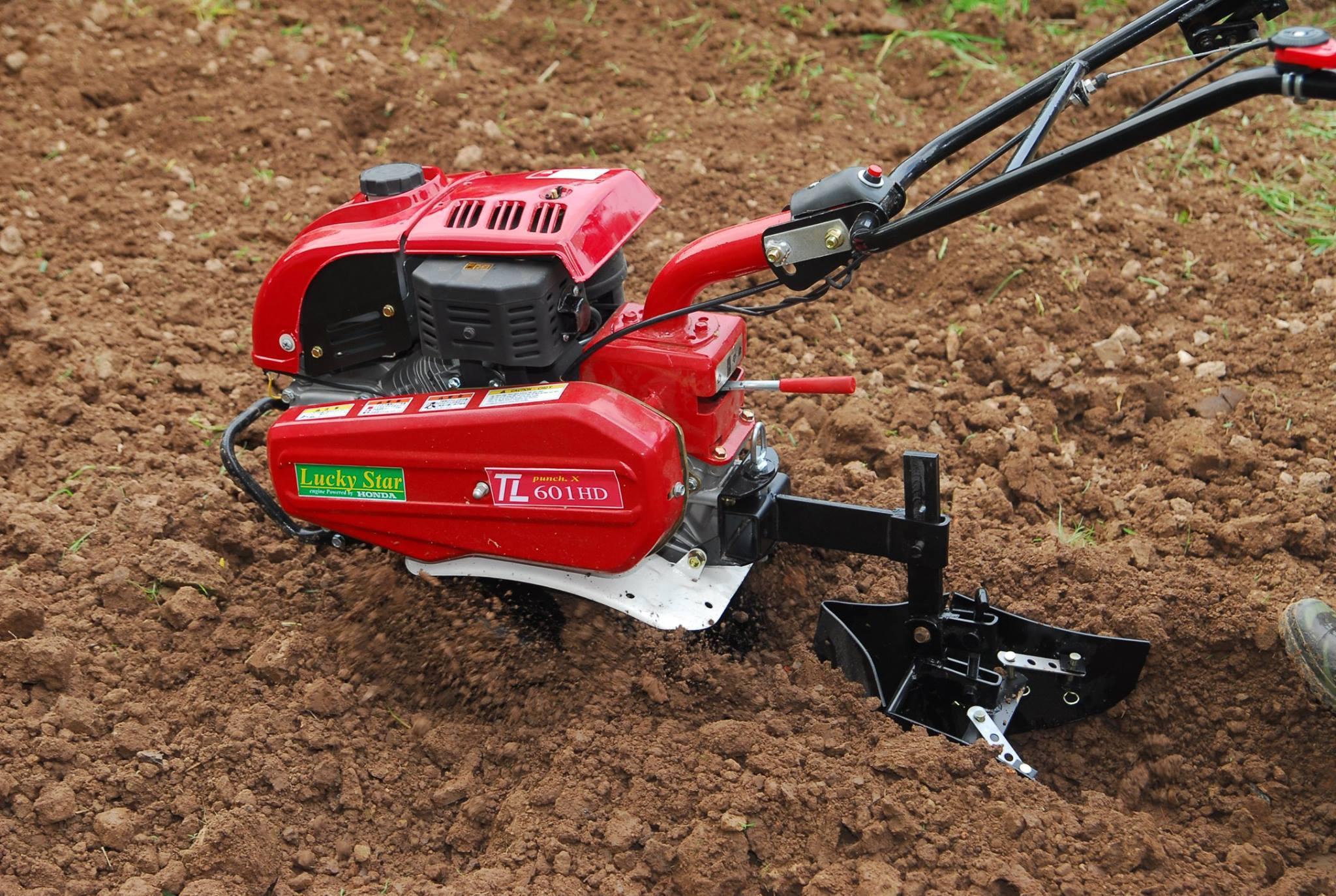 Cách sử dụng máy xới đất
