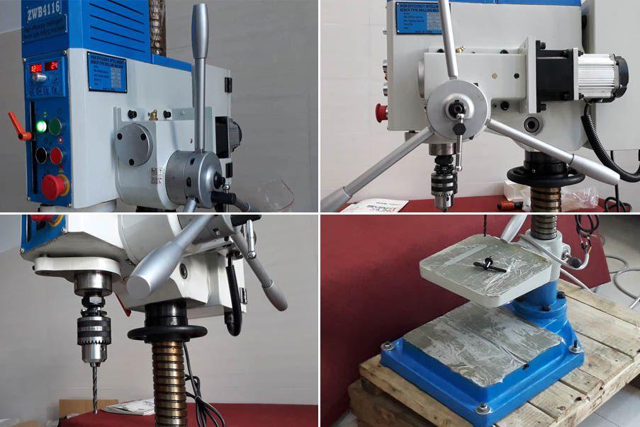 Hướng dẫn sử dụng và lắp đặt máy khoan bàn
