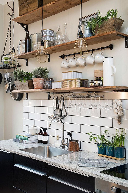 Cách đóng kệ nhà bếp treo tường