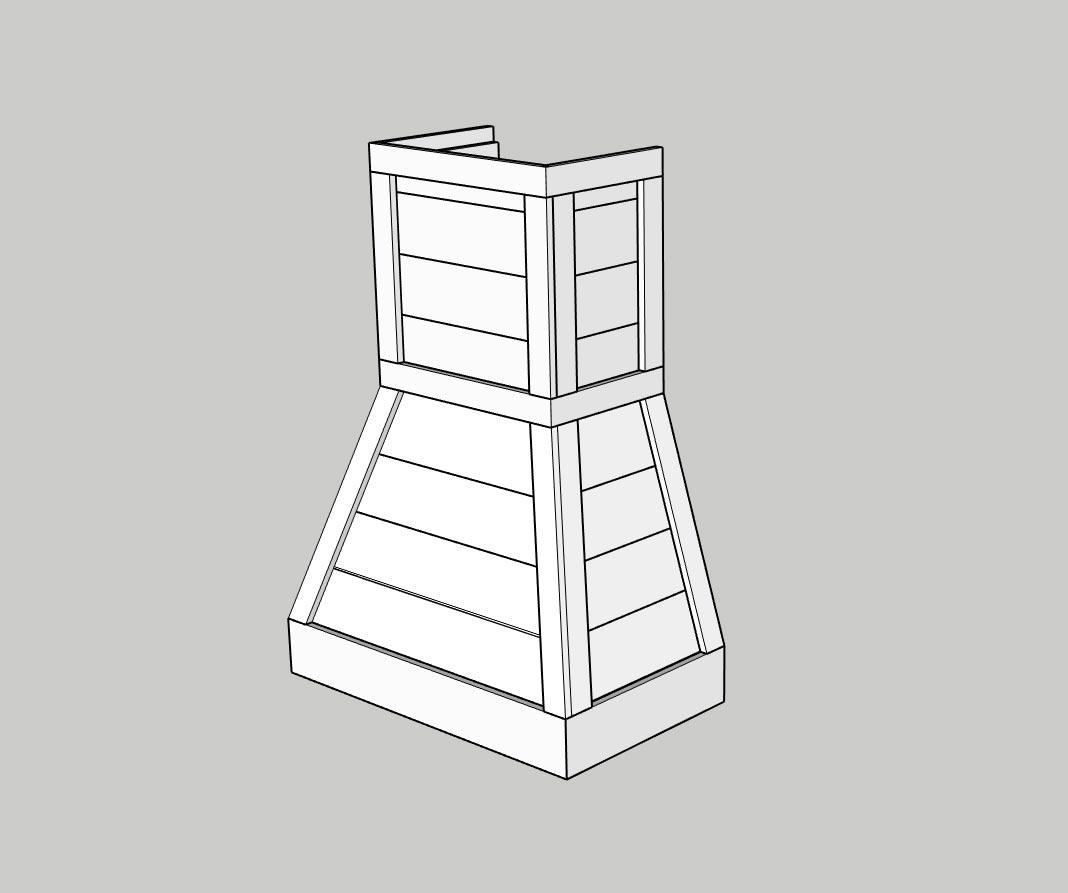 Cách đóng thiết bị nội thất gỗ phòng bếp