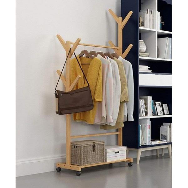 Cách làm giá treo quần áo bằng gỗ