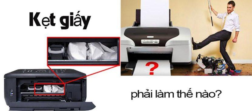 Cách sửa máy in bị kẹt giấy