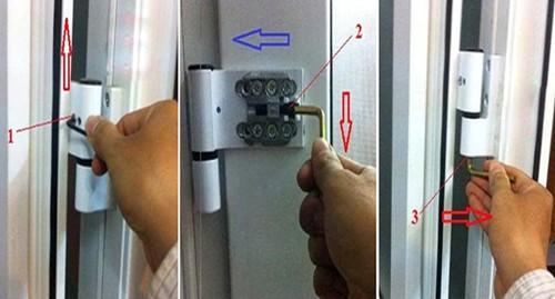 Bí quyết sửa cửa nhôm bị xệ