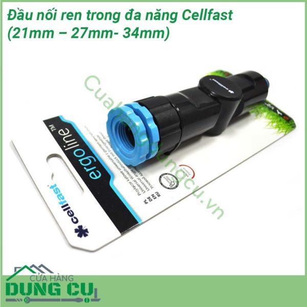 Đầu nối ren trong đa năng cao cấp Cellfast