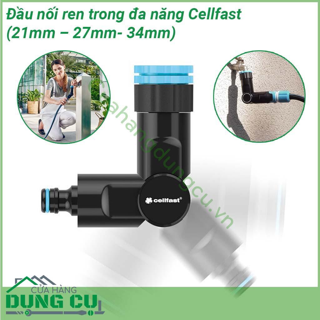 Đầu nối ren trong đa năng Cellfast