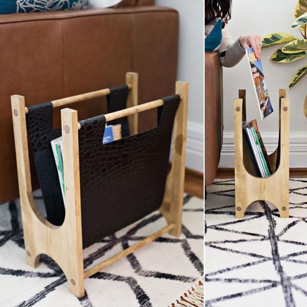 Cách làm kệ đựng sách mini bằng gỗ