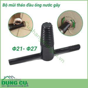 Bộ mũi tháo đầu ống nước gãy