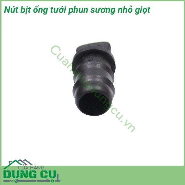 Nút bít ống mềm tưới phun mưa, nhỏ giọt 16mm