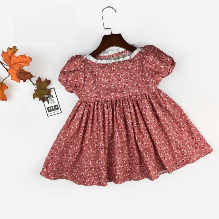 Cách thiết kế và may áo bèo nhún cho bé