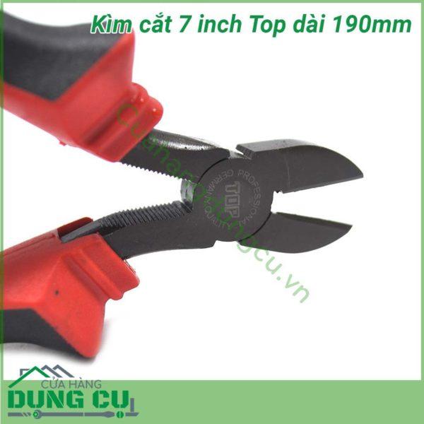 Kìm cắt 7inch cán đỏ đen TOP-DIA-7 (190mm)